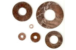 Brown Mica Washers